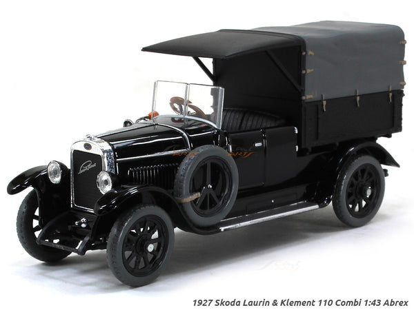 1927 Skoda Laurin & Klement 110 Combi 1:43 Abrex diecast Scale Model Car