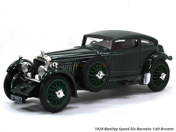1928 Bentley Speed Six Barnato 1:43 Brumm diecast scale model car