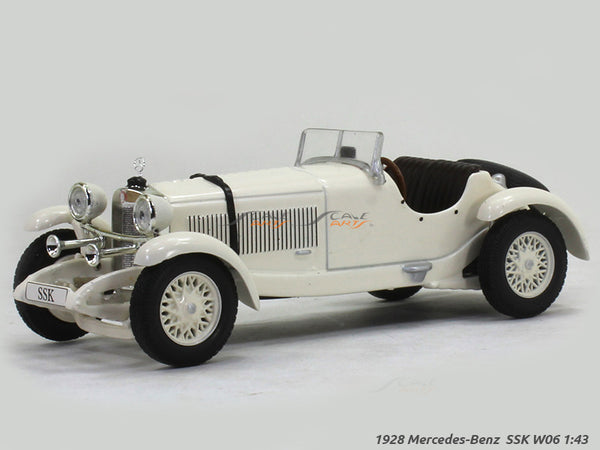 1928 Mercedes-Benz SSK W06 1:43 diecast Scale Model Car