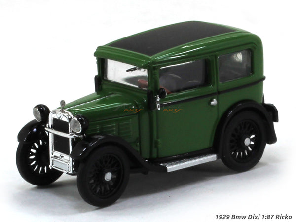 1929 Bmw Dixi green 1:87 Ricko HO Scale Model car