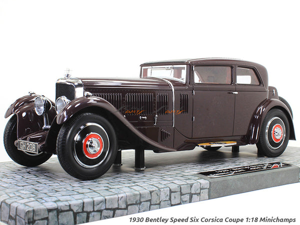 1930 Bentley Speed Six Corsica Coupe 1:18 Minichamps scale model car
