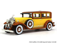 1930 Cadillac V16 LWB Imperial Sedan 1:43 Whitebox diecast Scale Model Car