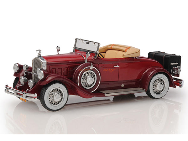 Prebook : 1930 Pierce Arrow Model B Roadster Top Down 1:43 Esval models scale car