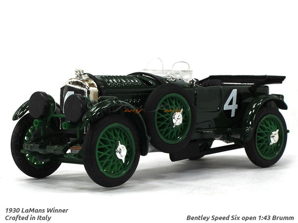 1930 Bentley Speed Six open 1:43 Brumm diecast Scale Model Car
