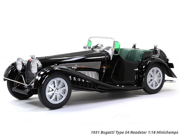 1931 Bugatti Type 54 Roadster 1:18 Minichamps scale model car