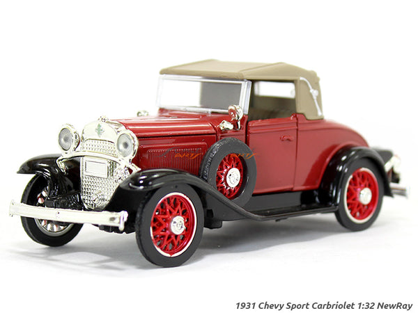 1931 Chevy Sport Cabriolet 1:32 NewRay diecast scale model car