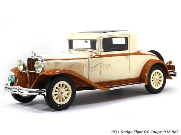 1931 Dodge Eight DG Coupe 1:18 BoS scale model car