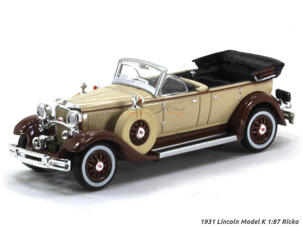 1931 Lincoln Model K 1:87 Ricko HO Scale Model car