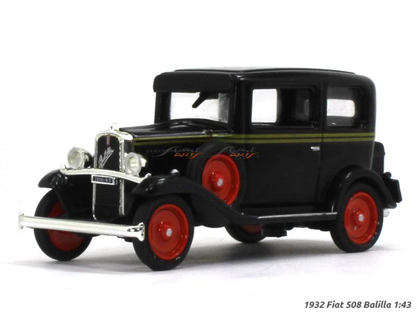 1932 Fiat 508 Balilla 1:43 diecast Scale Model Car