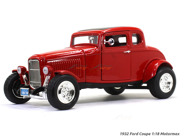 1932 Ford Coupe 1:18 Motormax diecast scale model car