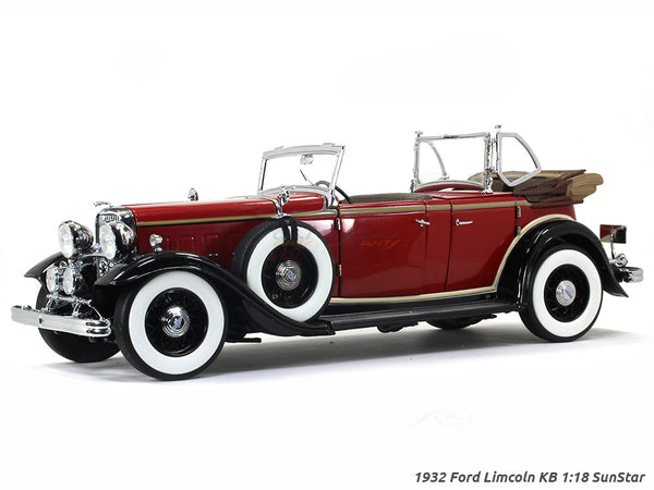 1932 Ford Lincoln KB 1:18 Sunstar diecast Scale Model car