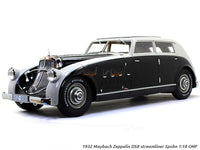 1932 Maybach Zeppelin DS8 streamliner Spohn 1:18 CMF scale model car