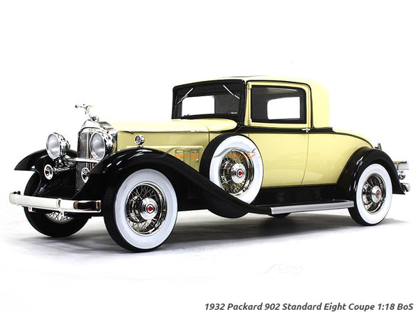 1932 Packard 902 Standard Eight Coupe 1:18 BoS scale model car