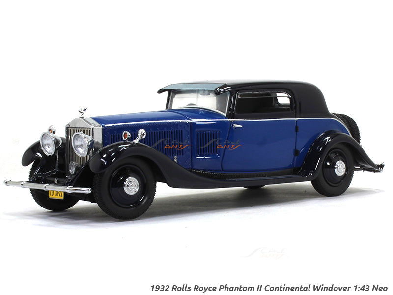 1932 Rolls Royce Phantom Ii Continental Windover 1 43 Neo