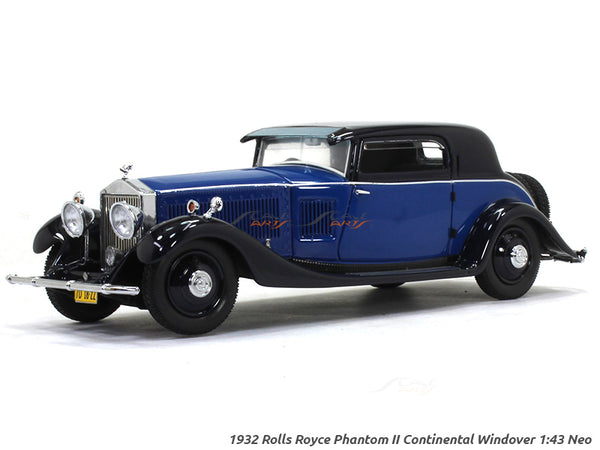1932 Rolls-Royce Phantom II Continental Windover 1:43 Neo scale model car
