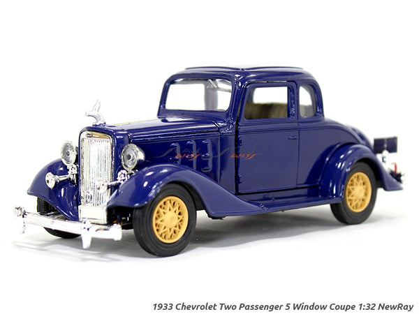 1933 Chevy Two Passenger 5 Window Coupe 1:32 NewRay diecast scale model car