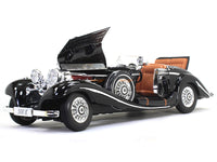 1934-1936 Mercedes-Benz 500K Special-Roadster black 1:18 Maisto diecast Scale Model car