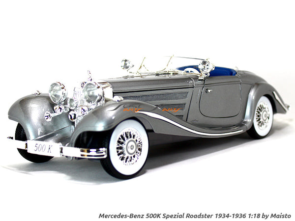 Mercedes-Benz 500K Special-Roadster (1934-1936) 1:18 Maisto diecast Scale Model car