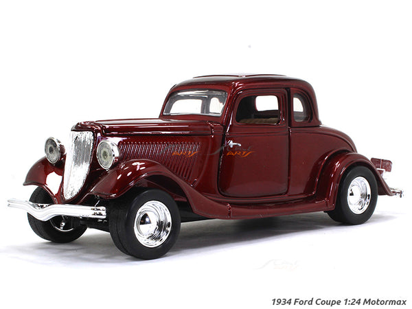1934 Ford Coupe 1:24 Motormax diecast scale model car