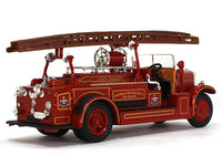 1934 Leyland FK-1 Fire engine 1:43 Road Signature Yatming diecast scale model truck
