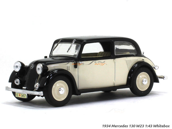 1934 Mercedes 130 W23 1:43 Whitebox diecast Scale Model Car