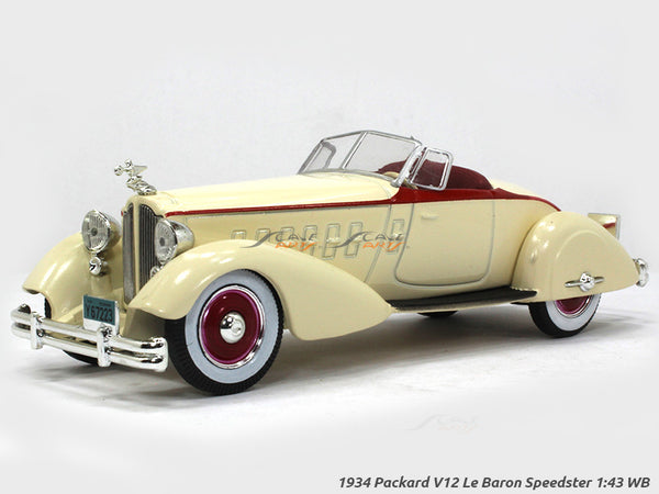 1934 Packard V12 Le Baron Speedster 1:43 Whitebox diecast Scale Model Car