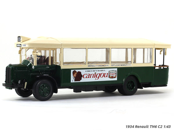 1934 Renault TN6 C2 1:43 diecast Scale Model Bus