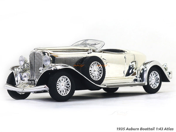 1935 Auburn Boattail chrome 1:43 Atlas diecast scale model car