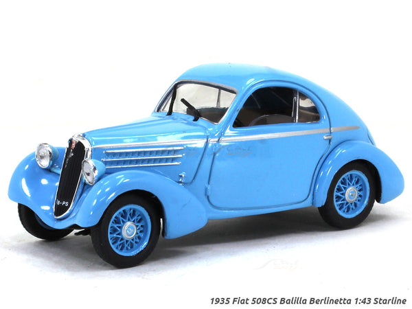1935 Fiat 508CS Balilla Berlinetta 1:43 Starline diecast scale model car