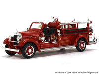 1935 Mack Type 75BX Fire engine 1:43 Road Signature Yatming diecast scale model truck