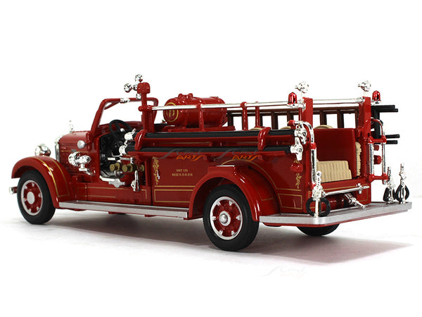 1935 Mack Type 75bx Fire Engine 1 43 Road Signature