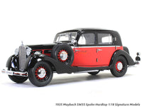 1935 Maybach SW35 Spohn Hardtop 1:18 Signature Models diecast scale model car