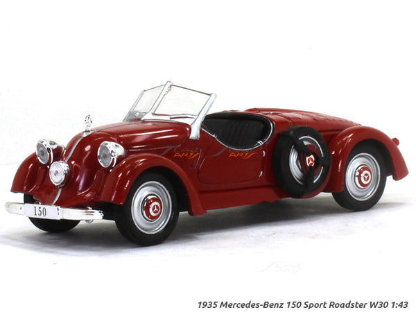 1935 Mercedes-Benz 150 Sport Roadster W30 1:43 diecast Scale Model Car