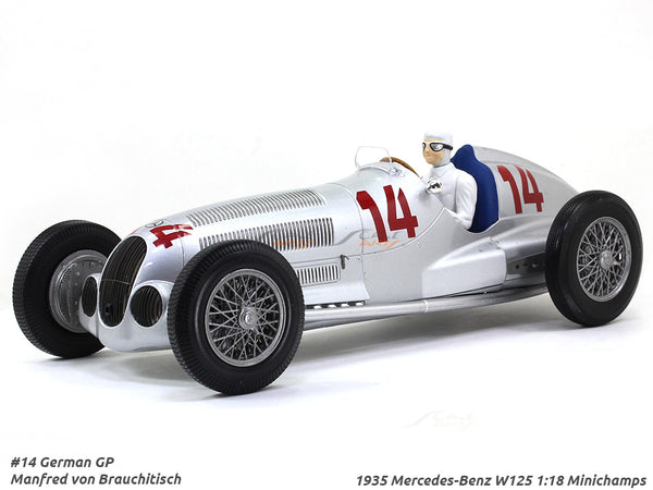1935 Mercedes-Benz W125 #14 1:18 Minichamps diecast scale model car