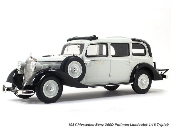 1936 Mercedes-Benz 260D Pullman Landaulet 1:18 Triple9 scale model car