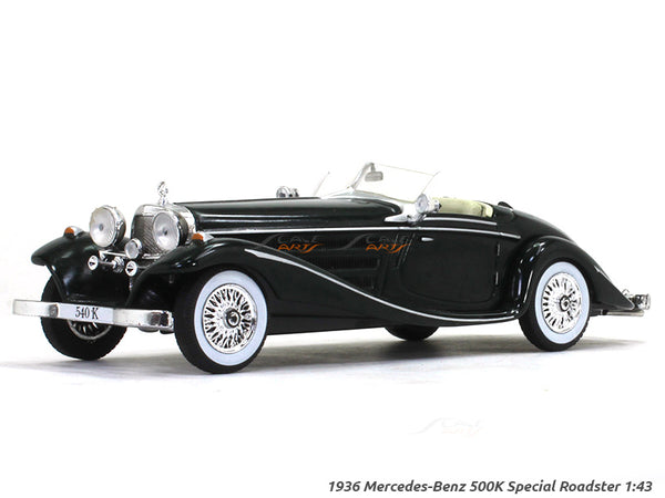 1936 Mercedes-Benz 500K Special Roadster 1:43 diecast Scale Model Car