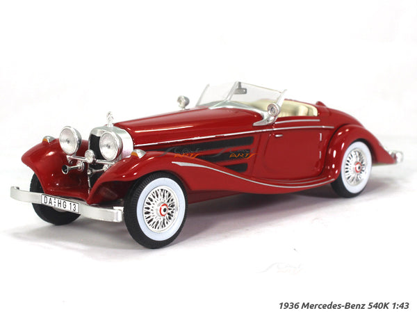 1936 Mercedes-Benz 540K 1:43 diecast Scale Model Car