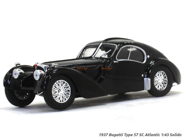 1937 Bugatti Type 57 SC Atlantic 1:43 Solido diecast Scale Model Car