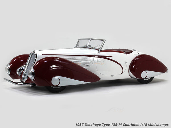 1937 Delahaye Type 135-M Cabriolet 1:18 Minichamps scale model car