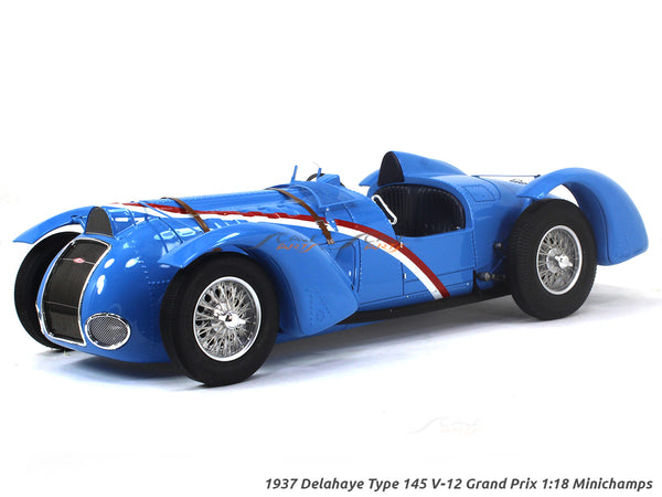 1937 Delahaye Type 145 V-12 Grand Prix 1:18 Minichamps scale model car