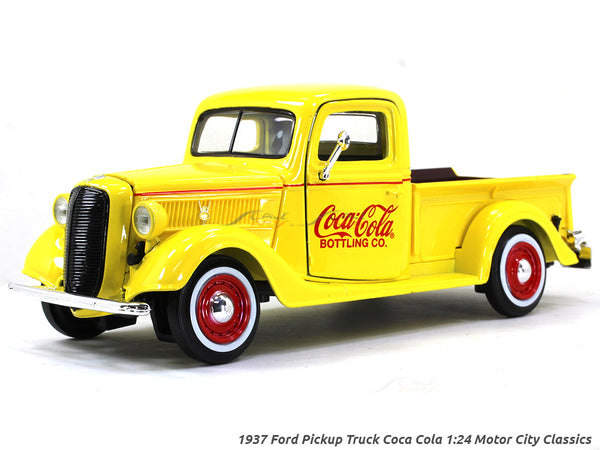 1937 Ford Pickup Truck Coca Cola 1:24 Motor City Classics diecast Scale Model car