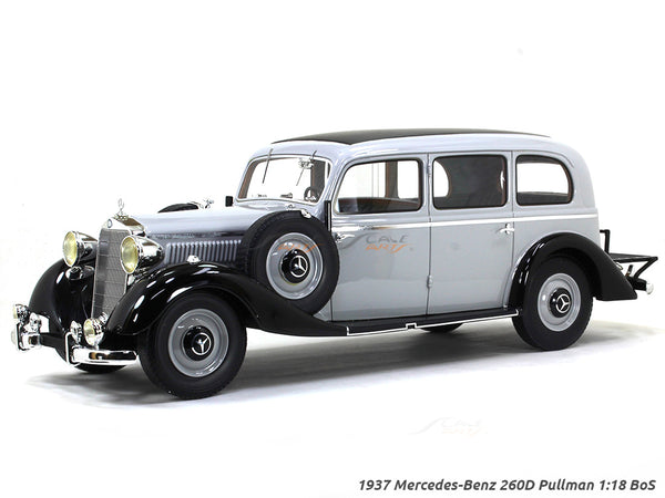 1937 Mercedes-Benz 260D Pullman 1:18 BoS scale model car