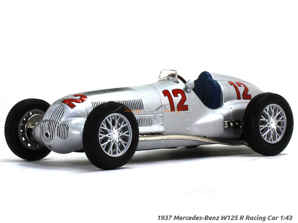 1937 Mercedes-Benz W125 Racing car #12 1:43 diecast Scale Model