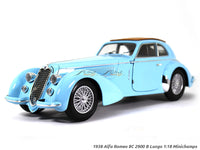 1938 Alfa Romeo 8C 2900B Lungo 1:18 Minichamps diecast scale model car