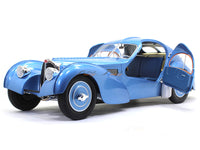 1938 Bugatti Type 57 SC blue 1:18 Solido diecast Scale Model Car