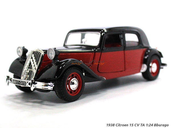 Citroen TA 15CV 1:24 Bburago diecast Scale Model car