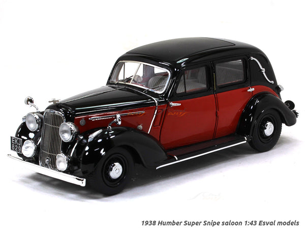 1938 Humber Super Snipe saloon 1:43 Esval models scale model car