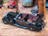 1938 Mercedes-Benz 770K Convertible 1:43 IXO Scale Model Car