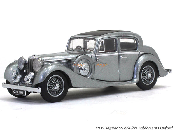 1939 Jaguar SS 2.5Litre Saloon 1:43 Oxford diecast Scale Model Car