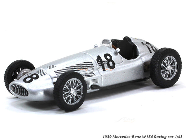 1939 Mercedes-Benz W154 Racing car #18 1:43 diecast Scale Model Car